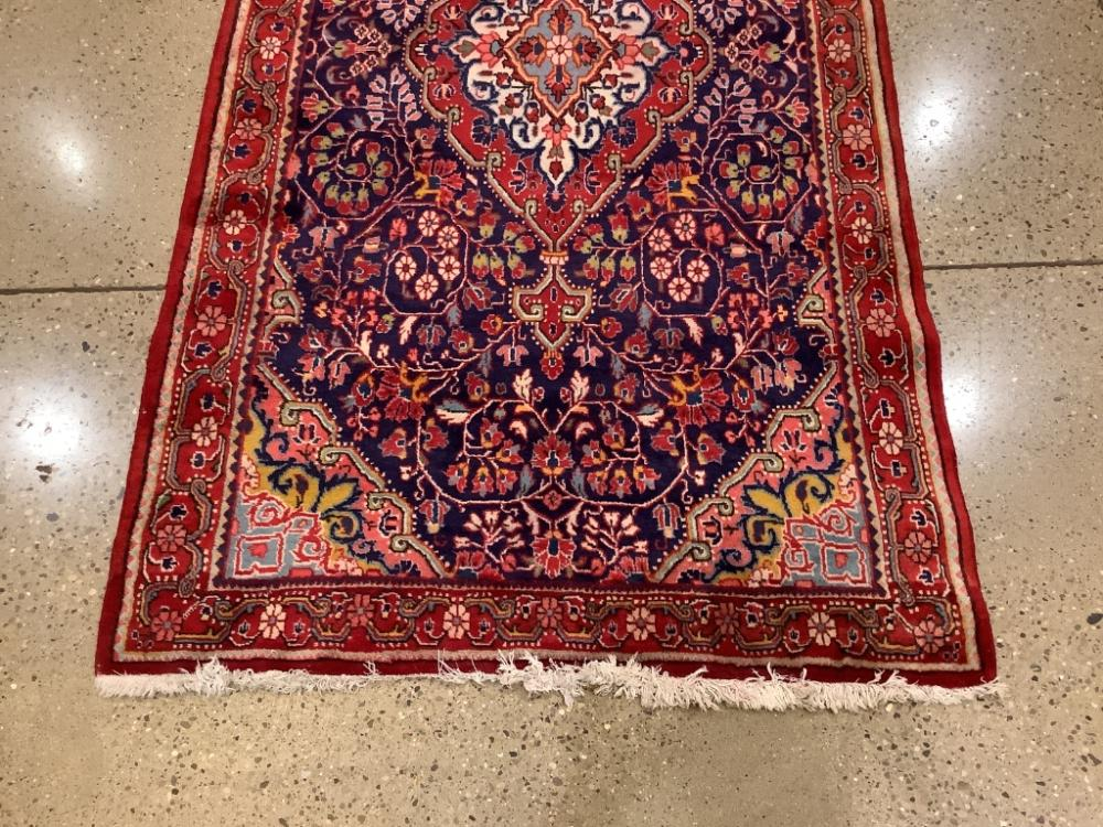 """Oriental rug, Tabriz, 4'2"""" x 7'10""""."""