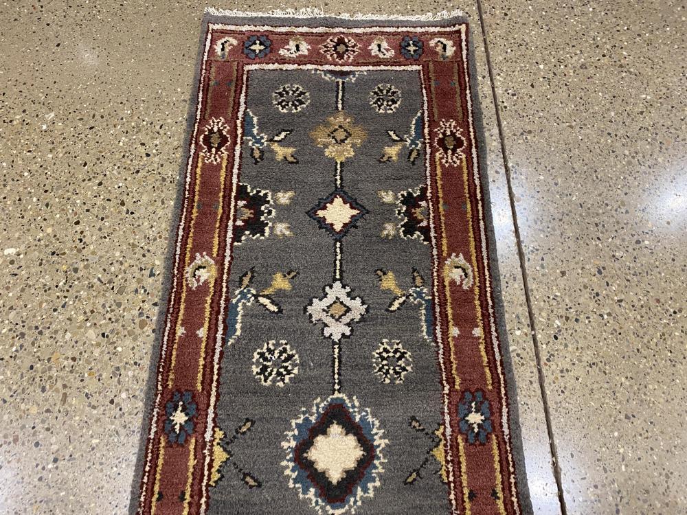 "Oriental rug, Tabriz runner, 2'6"" x 20'"