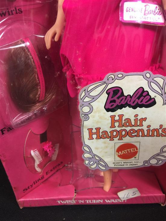 VINTAGE HAIR HAPPENIN'S BARBIE IN ORIGINAL BOX. NRFB.
