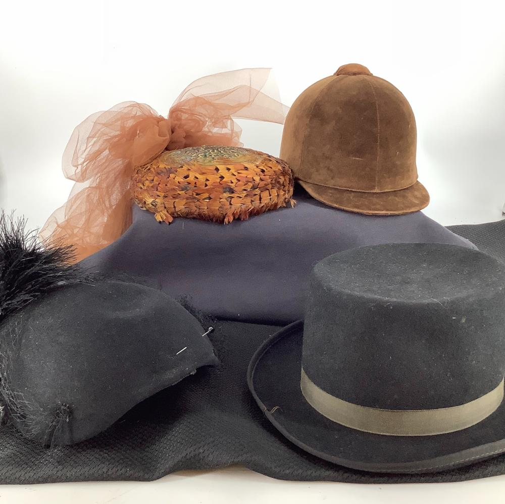 Victorian hats.