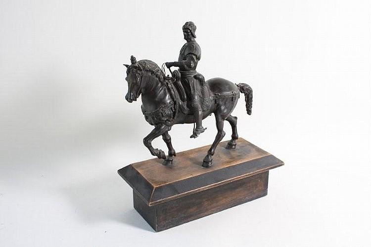 Bronze: Den venezianske hærfører Bartolommeo