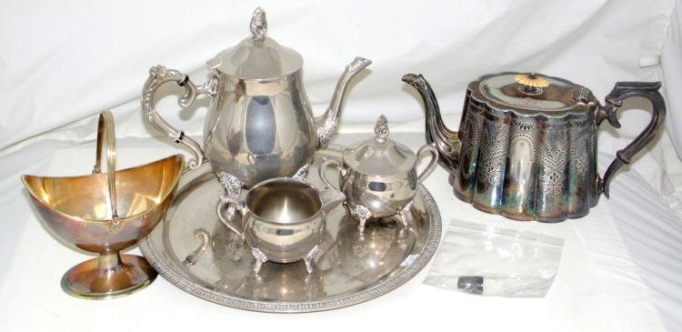 Collection of Silver Plate EPNS to Include Elkington,Lee & Wigfull Etc.