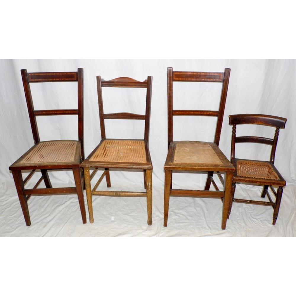 Marvelous Antique Chairs X 4 19Thc Having With Bergere Seats To Bralicious Painted Fabric Chair Ideas Braliciousco