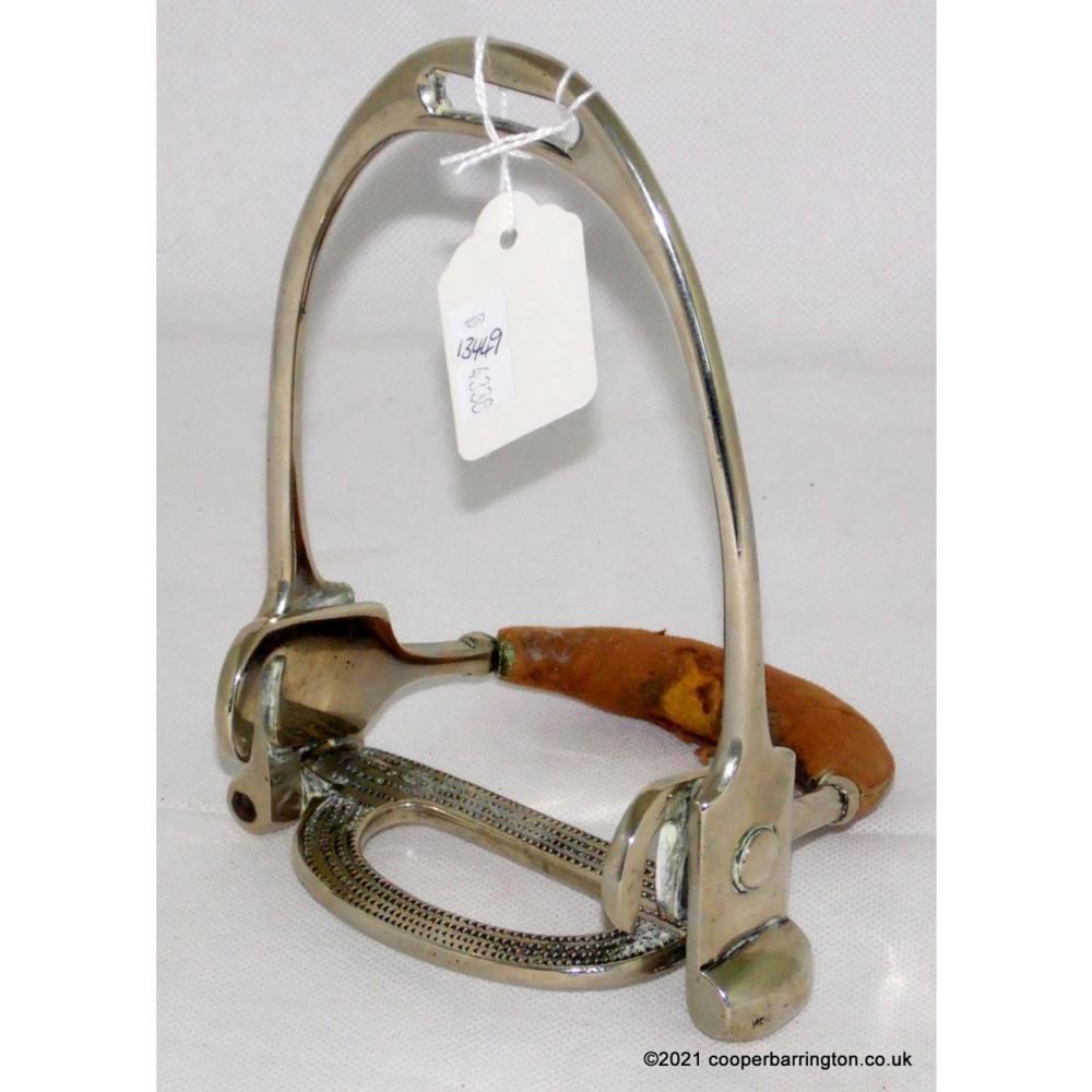 Antique Simplex Side Saddle Safety Stirrup