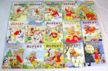 Rupert Annuals 2000 to 2014. All unused and unclipped. (15 Items)