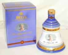 BELL'S Celebrating 100 Years The Queen Mother 2000, 8 Year Old 70cl / 40% Blended Scotch Whisky in a Wade Decanter.