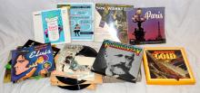 A Collection of 78 & 33 RPM Records to  include: Tchaikovsky & Instruments in Gold  Box Sets.