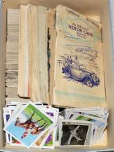 Large Collection of Cigarette Cards (926  loose cards) plus 9 Albums to Include: Wills  'Safety First' Album and John Players & Sons  'Motor Cars - Second Series Album' Etc.