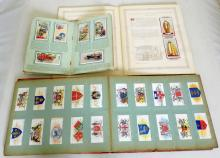 Wills 198  'Arms' Cigarette Cards in Wills  Album. Wills 'Safety First' Set in Album.  John Player  King George V1 Coronation 1937  Cards in Album. (295 Cards)