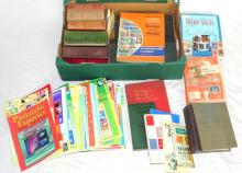 Vintage Collection of Stanley Gibbons Stamp  Catalogues and a Quantity of Philatelic  Exporter Magazines.