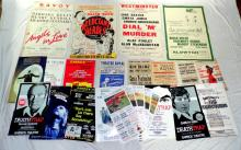 Collection of Theatre Posters to Include:  Theatre Royal,Garrick,Westminster,Savoy Etc.   (24 Items)