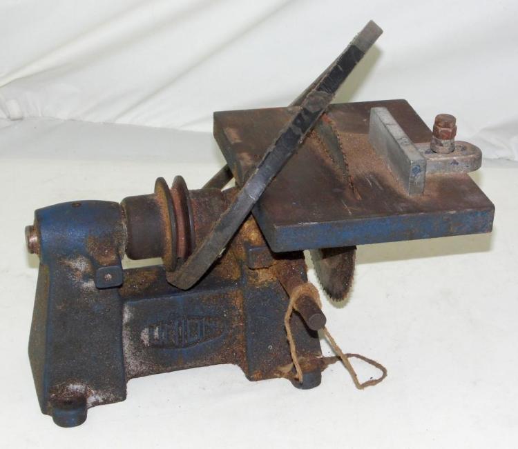 Vintage Union Bench Saw.