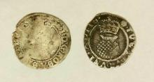 Great Britain James 1 Hammered Silver Halfgroats.Circa 1603 & 1605. (2 Items) F.