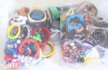 Good Collection of Unsorted Costume Jewellery in Two Sealed Bags . 5.8 kg.