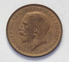 Great Britain 1912 Penny, George V, Uncirculated. Spink £80.00