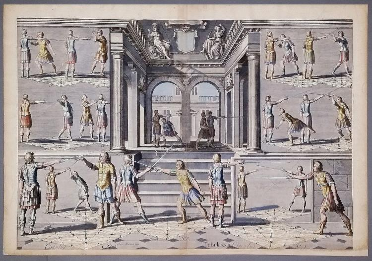 Academie de l'Espée de Girard Thibault d'Anvers [Fencing Academy of Girard Thibault of Antwerp]