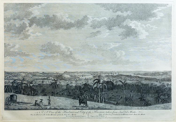 Rare mid-18th-century views of Havana