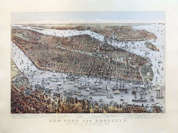 A Stunning birds-eye view of New York
