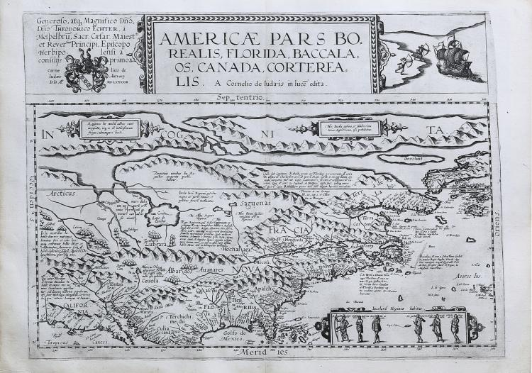 De Jode?s rare map of North America