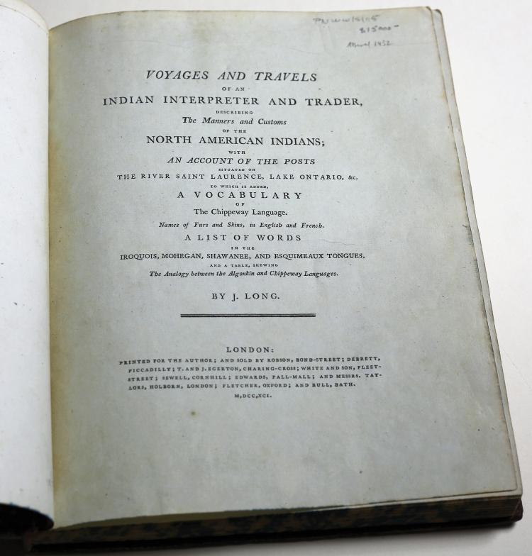 John Long's First Edition of Voyages and Travels
