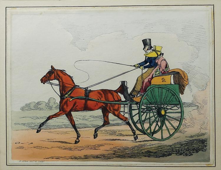 Henry Alken Equestrian Engraving