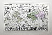 Novis Orbis Tabula, ad usum  Serenissimi Burgundiae Ducis