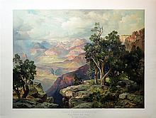 Moran Chromo of Grand Canyon