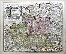 Striking example of Homann's map of Poland, Lithuania, Lativa, Estonia?