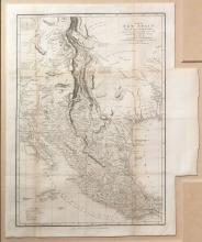 Humboldt's Historic Map of New Spain, 1810