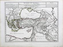 De L'Isle Map of Anatolia