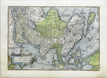 Ortelius, Asia, Latin Edition