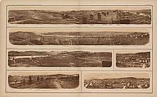 Julius Bien, [6 Views of the Cities of Tennessee on One Sheet].