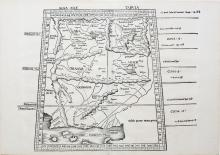 Ptolemy's Woodblock of Pakistan and Afghanistan
