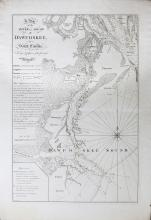 Plan of the River and Sound D'Awfoskee in South Carolina