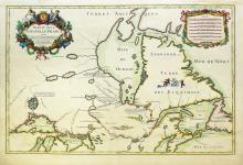 Jaillot Map of Eastern Canada