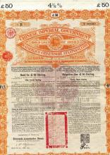 Chinese Imperial Government 4 1/2% Gold Loan of 1898.