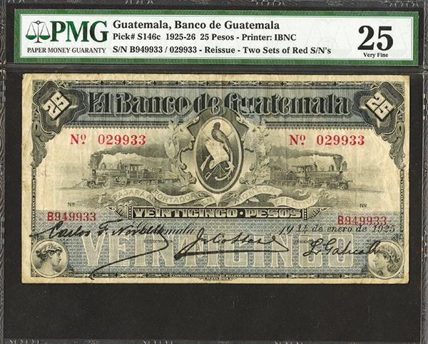 Banco de Guatemala, 1925)