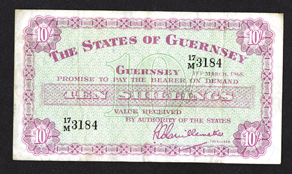 States of Guernsey. 1965 Issue.