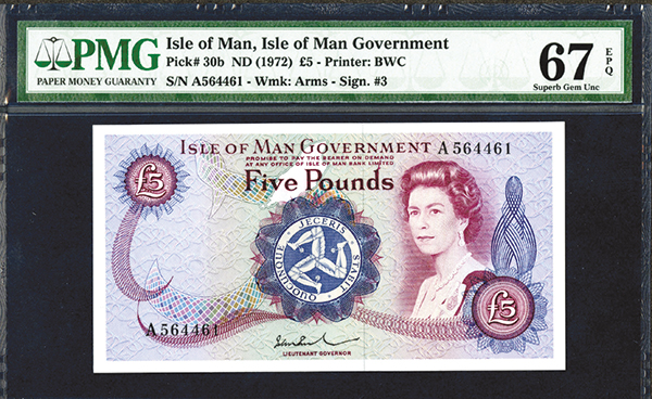 Isle of Man Government. 1972 ND Issue.