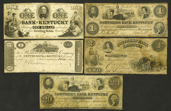 Kentucky Obsolete Banknote Group.