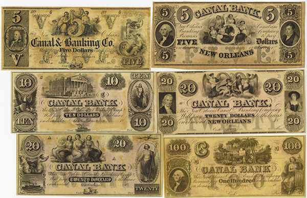 Canal Bank Banknote Assortment.