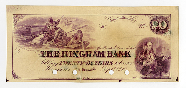 Hingham Bank, 18xx (ca.1860's)