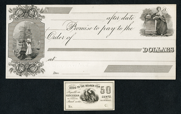 Generic Merchant Scrip Proof Pair.