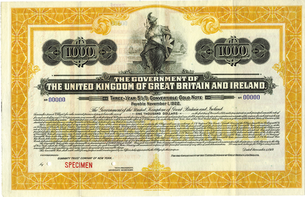 The Government of the United Kingdom of Great Britain and Ireland.