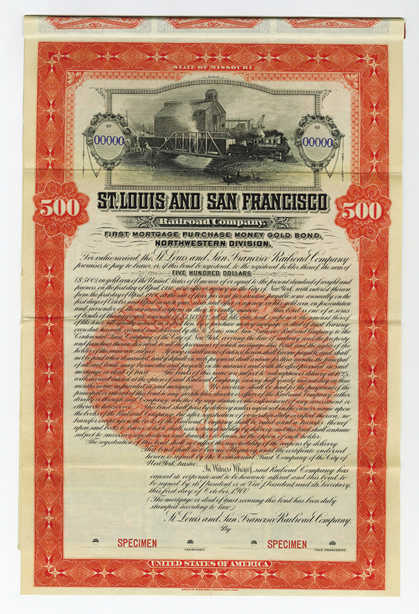 St. Louis and San Francisco Railroad Co., 1900,