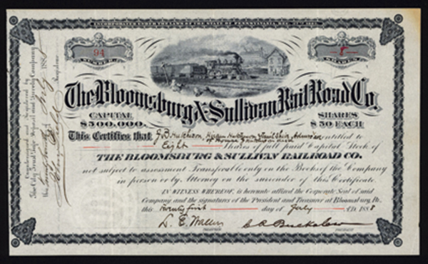 Bloomsburg & Sullivan Rail Road Co.