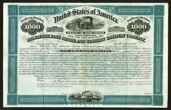 Milwaukee, Lake Shore and Western Railway Co., 1879