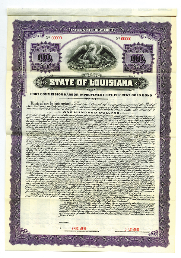 State of Louisiana, 1915