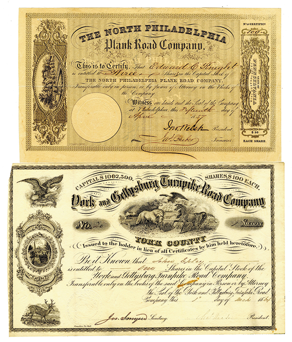 Turnpike Certificate Pair.