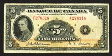 Banque du Canada. 1935 French Issue.